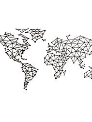 Армия Геометрия 3D Наклейки Простые наклейки Декоративные наклейки на стены,Бумага Винил материал Украшение дома Наклейка на стену