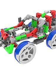 Kit de Bricolage Modèle d'affichage Blocs de Construction Jouet Educatif Pour cadeau Blocs de Construction ChariotPlastique Acétate /