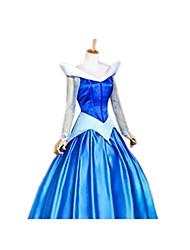 Uma-Peça/Vestidos Princesa Conto de Fadas Festival/Celebração Trajes da Noite das Bruxas Vintage Vestidos Dia Das Bruxas CarnavalFeminino