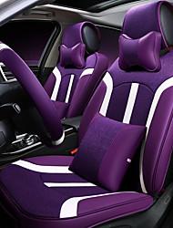 Sedile auto sedile cuscino sedile in pelle di cuoio quattro sedile generale circondato da cinque sedile 2 poggiatesta 2 vita dando la