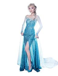 Uma-Peça/Vestidos Princesa Conto de Fadas Fantasias de Filme e Tema de TV Festival/Celebração Trajes da Noite das Bruxas Vintage Vestidos