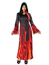 Cosplay Costumes Masquerade Ghost Vampire Cosplay Festival/Holiday Halloween Costumes Vintage Others Dresses Halloween CarnivalFemale