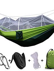 Hamaca para camping con red antimosquitos Plegable Antimosquitos Nylón para Camping Camping / Senderismo / Cuevas Al Aire Libre