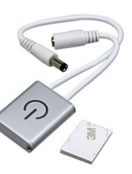 Hkv® 1pcs 3a Touch-Steuerung führte Dimmer und spielen Inline-Dimmer-Controller für LED-Schrank Lichtleiste Licht Panel Licht dc12v /