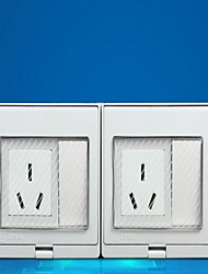 Electrical Outlets PP With Switch 19*9*5