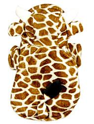 Chien Costume Vêtements pour Chien Cosplay Animal Orange