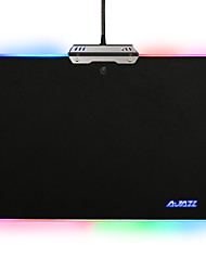Ajazz Hard Mouse Pad Colorful 9 RGB Lighting Modes Touch Control for Games Office