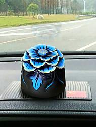 Diy ornements automobiles pendentif voiture hibiscus ms&Ornements pvc
