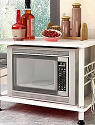 Creative Floor Stand Home Kitchen Microwave Shelf Multi-shelf Multi-function Kitchen Storage