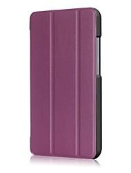 Caja de cuero de la PU del patrón del color sólido con el soporte para el zenpad c 7.0 z171kg del asus 7.0 PC de la tableta de la pulgada