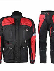 RidingTribe Giacche Pants Set Oxford Tutti Tutte le stagioni Migliore qualità Alta qualità Cinture renali motociclistiche