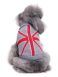 Собака Свитера Одежда для собак На каждый день Государственный флаг