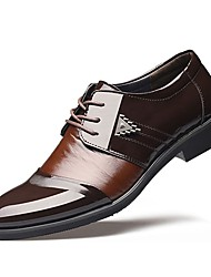 Men's Shoes TPU Fall Winter Formal Shoes Oxfords For Wedding Dress Office & Career Black Brown