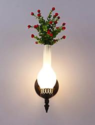 40 E14 E12 Простой LED Модерн Живопись Особенность for Мини,Рассеянный настенный светильник