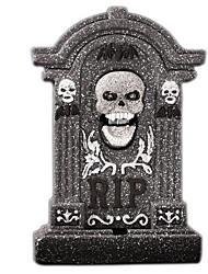 Halloween Decoration Props Bar Haunted House Horror Scene Layout Bubble Skull Simulation Tombstone