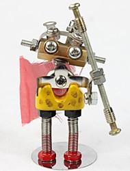 Puzzles Kit de Bricolage Puzzles 3D Puzzles en Métal Jeux de Logique & Casse-tête Blocs de Construction Jouets DIY  Dessin Animé Métal