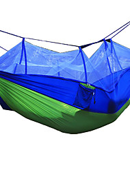 Double Parachute Cloth Mosquito Nacelle Safe Anti - Rollover Outdoor Camping Travel Anti - Mosquito Swing Chair
