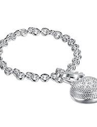 Femme Chaînes & Bracelets Charmes pour Bracelets Zircon cubiqueBasique Pierre Hypoallergique Le style mignon Fait à la main Gothique