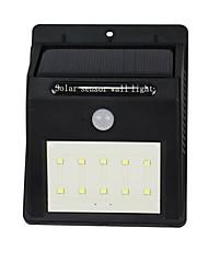 Y-solar 10 led lampada da parete con sensore di luce sensore di movimento a luce debole sensore impermeabile principale per cortile