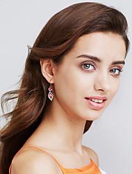 Women's Hoop Earrings Jewelry Sexy Fashion Bohemian Personalized Handmade Diamond Stainless Steel Gold Plated Geometric Jewelry ForGift
