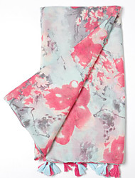 Women's Others Rectangle Print Fall