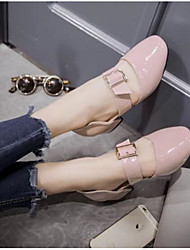 Women's Sandals Comfort PU Summer Casual Comfort Blushing Pink Ruby 1in-1 3/4in