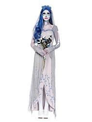 Costumes de Cosplay Bal Masqué Squelette/Crâne Esprit Zombie Cosplay Fête / Célébration Déguisement d'Halloween Autres RétroRobes
