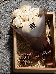 Valentine's Day Gift Soap Flower Gift Box Birthday Gift Eternal Flowers Creative Gift