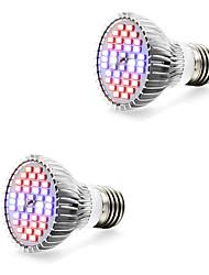 7W E14 GU10 E27 Luci LED per la coltivazione 40 SMD 5730 800-1200 lm Bianco caldo Bianco Rosso Blu V 2 pezzi