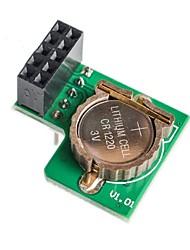 Module d'horloge à tarte aux framboises rpi rtc ds1307 raspberrypi