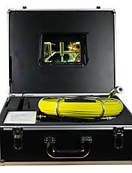 câble de serpent 50m sous l'eau d'égout tuyau de vidange inspection de paroi du tube de caméra endoscope&système d'inspection du mur