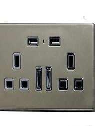 Electrical Outlets PP With USB Charger Outlet 10*9*6