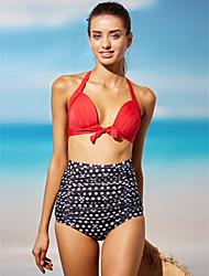 Bikini - Donna - Push-up - All'americana DI Nylon/Poliestere