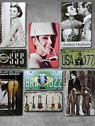 Decoración de la pared Hierro Vintage Arte de la pared,9