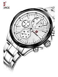 NAVIFORCE Pánské Hodinky k šatům Módní hodinky japonština Křemenný Voděodolné Nerez Kapela Cool Luxusní Stříbro