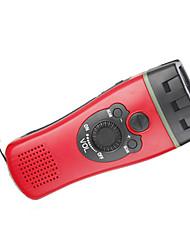 Na4496 alarme d'urgence extérieure lampe de poche led multifonction radio à main fournitures de secours d'urgence extérieures