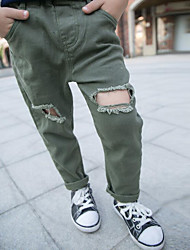 Boys' Solid Pants All Seasons