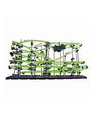 Гусеничный мини-погрузчик LED освещение Набор для творчества Обучающая игрушка Трек вагоностроительный Треки Игрушки на солнечных батареях