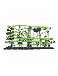Compact Track & Multi Terrain Loader LED Lighting DIY KIT Educational Toy Track Rail Car Track Sets Car Toys Plastics Acetate/Plastic ABS