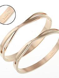 Titanium bracelet Korea fashion jewelry gift on Valentine's day HTBR-0409