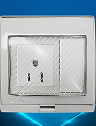 Electrical Outlets PP With Switch 9*10*5