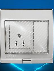 Sorties électriques PP Avec commutateur 9*10*5