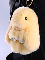 Bag / Phone / Keychain Charm Cartoon Toy Rex Rabbit Fur