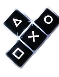 Teclas de direção abs chave translúcida ajustada para teclado mecânico r1 altura