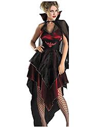 Costumes de Cosplay Pour Halloween Esprit Vampire Cosplay Fête / Célébration Déguisement d'Halloween Autres Rétro Robes Halloween Carnaval