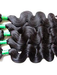 Оптовая индийская волна virgin волос тела 5bundles 500g самый лучший материал качества волос сделанный первоначально человеческий волос