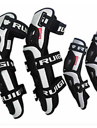 RUIGI Warrior Motorcycles Knee Guard Four-Piece Knight Riding Wrestling Men'S Four Seasons Knee Care Elbow Adult