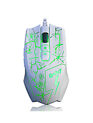 A-jazz  4000dpi A-jazz Q7 Emphasis Custom Gaming Mouse Wired USB LOL Special Emphasis Gaming 4 Speed Transmission 8 Key