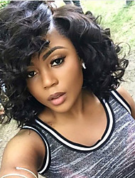 Natural Color Body Wave Glueless Full Lace Human Hair Wigs With Baby Hair For Black Women Indian Human Virgin Hair
