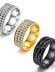 Gold three row diamond ring gold diamond ring gold